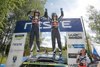 Latvala scores his third Rally Finland success