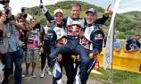 Ogier leads VW 1-2-3 in Germany