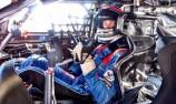 Adam Marjoram cuts Erebus V8 Supercar laps