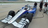 Road course Andretti IndyCar test for Brabham