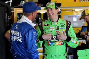 Kyle Busch is all smiles with pole at Pocono