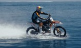 VIDEO: Robbie Maddison rides on water