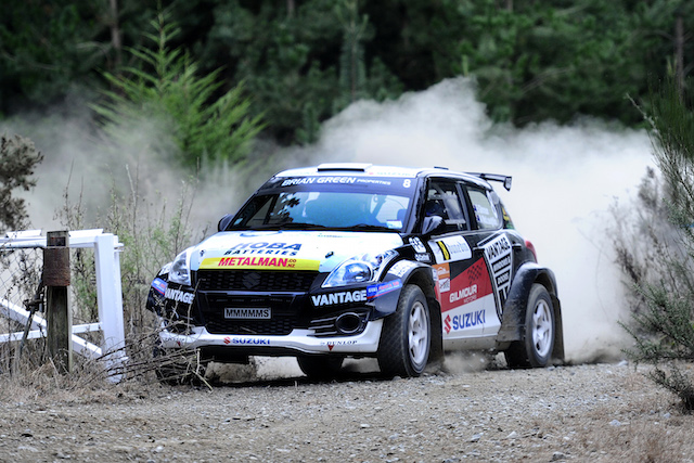 Emma Gilmour and her experienced Australian co-driver Anthony McLoughlin. pic: Geoff Ridder