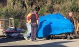 Passenger airlifted to hospital after V8 ride crash