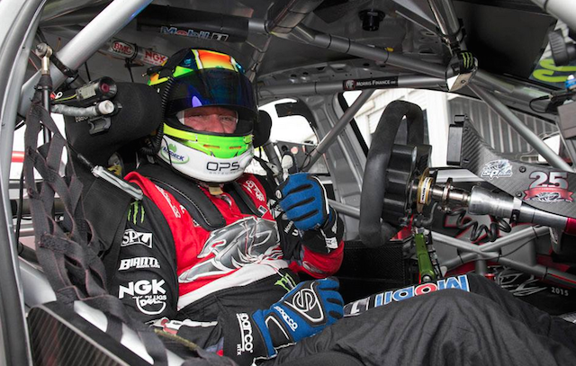 Russell Ingall is also behind the wheel at Winton