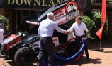 Will Power honoured in hometown Toowoomba