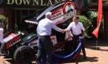 Will Power honoured in hometown Toowoomba