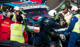 Mostert, marshals injured in qualifying crash