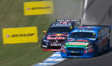 Frosty 'cool' with Whincup dive-bomb