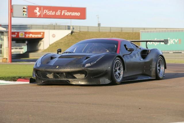 The new Ferrari 488 GT3