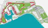Proposed circuit for V8's Yas Marina debut
