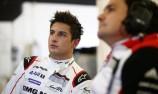 Evans undertakes maiden Porsche LMP1 test