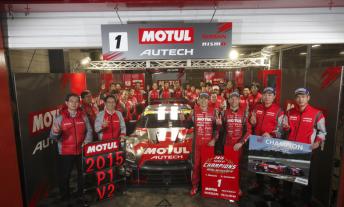 Nissan celebrate SuperGT title win