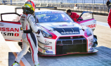 Michael Caruso tests GT-R GT3 at Fuji Speedway