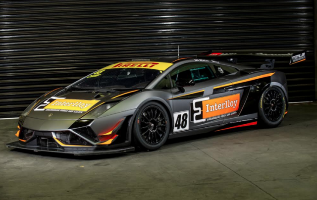 M Motorsport's Gallardo has been given a new look for Highlands Park
