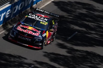Craig Lowndes will have to come from the rear of the field in Race 34 to keep the Championship alive