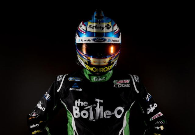 Winterbottom in his 2016 race suit