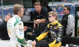 Ed Carpenter splits with Fisher, Hartman