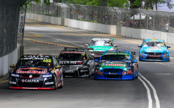 V8 Supercars completed a series of demonstration races at last year's  inaugural KL City GP