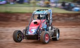 Speedcar driver injured in multiple car accident