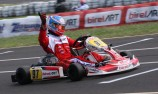 Hays back to Aust Kart Champs winners circle