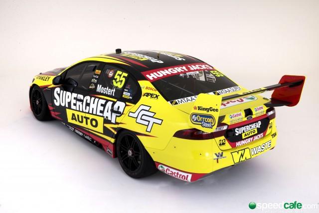 Chaz Mostert Supercheap Auto rear