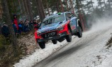 Paddon in contention in Sweden