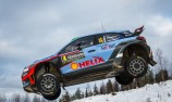 Hayden Paddon claims historic result in Sweden