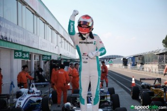 Nick Cassidy will graduated from F3 to Japanese Super GT with the TOM's squad this year