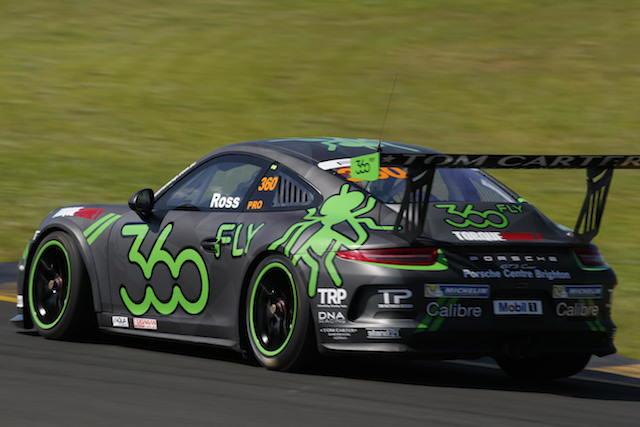 Fraser Ross' new look Porsche