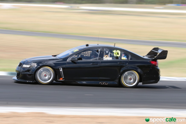 Will Davison was left encouraged by his first day behind the wheel of a Tenno Autosport Holden Commodore