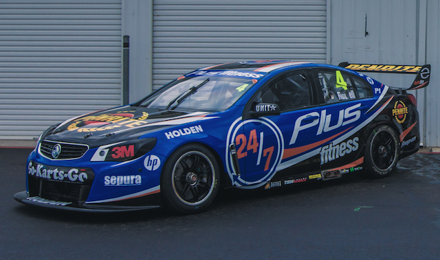 Aaren Russell's Plus Fitness livery