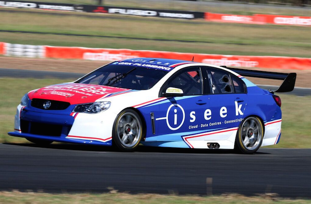 Todd Hazelwood on track at QR on Tuesday. pic: Matthew Paul Photography