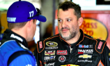 Tony Stewart hospitalised with back injury
