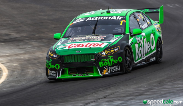 Reigning champion Mark Winterbottom