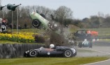 VIDEO: Miracle escape in Goodwood F1 crash