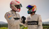 VIDEO: Alonso and Button's Chandon race