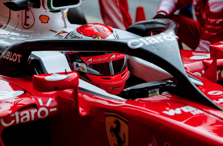 Halo F1 head protection on course for 2017 - Speedcafe