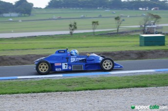 A huge historic Formula Ford grid is set for the Phillip Island Classic