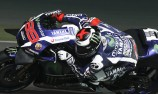 Lorenzo tops MotoGP test as Rossi escapes fall