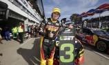 Mostert upbeat despite crash in V8 comeback