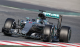 Mercedes sets the pace in final F1 test