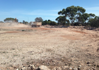 Construction has started on the new SA Motorsport Park circuit