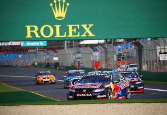 Triple Eight's three drivers fought hard during the Australian Grand Prix