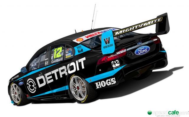 Coulthard's Detroit colours
