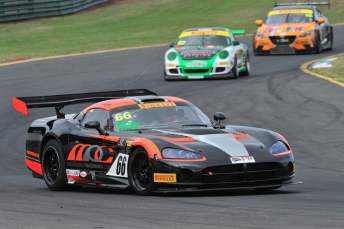 Garth Rainsbury and Ben Porter claimed pole in the Australian GT Trophy Series
