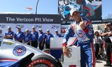 Helio Castroneves shoots to Long Beach pole