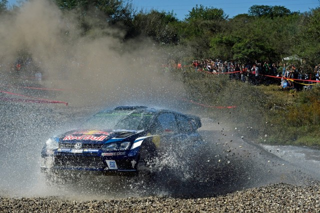Latvala out front in Argentina