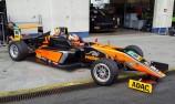 Joey Mawson completes German F4 test