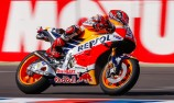 Marquez on pole as Redding suffers tyre scare
